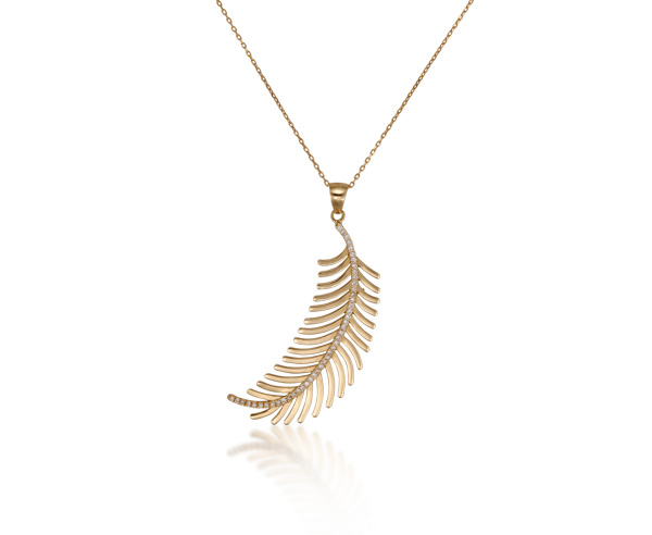 NECKLACE FEATHER